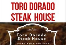 TORO DORADO STEAK HOUSE / Toro Dorado Steak House is the reference of locals for high quality steaks, fish and of course top quality meats from UK cooked well at in Wellingborough, Northampton.