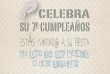 Invitaciones de cumpleaños / Birthday invitation
