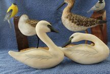 Handmade Wood Carvings - by Russell R Klages / You will find that unexpected gift for the person who already has everything. These exquisitely detailed hand carved and hand painted collectibles are sure to great addition to your home and your collections. All hand carved in detail and hand painted to perfection.  Shop outside the big box, with unique items for hand carved and hand panted birds by Russell R Klages from Easton, Maryland. Each piece is hand signed and dated. Russell R Klages has several award winning carvings. / by URGifts4allSeasons