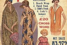 1920's fashion to match our 1926 car :) / Fashion
