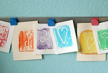 Make Your Own Stamps / Ideas and resources for print making and stamp making.