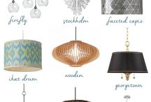 On trend lighting / On trend lighting selections / by Samantha Ley