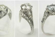 Beautiful vintage rings / by Mimi Panormios