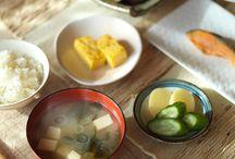 日本人の朝ごはん Japanese Breakfast