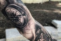 Tattoo Kompas