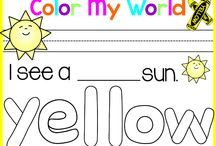 Math: Colors/Color Words