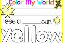 Math: Colors/Color Words