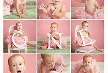 1st birthday Pink pumpkin