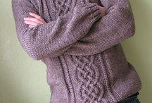 Male Knits / Knitting inspiration for men