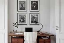 Office Design Inspiration / Dream office design, free from clutter so you can work to your optimum.