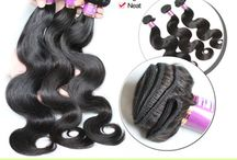 Malaysian Hair - http://www.blackhairclub.com, Brazilian, Peruvian, Indian Human Hair Extensions / 100% virgin human hair weaves from $29/bundle hair extension,virgin brazilian hair,virgin peruvian hair,virgin malaysian hair,virgin indian hair, texture: straight,body wave,loose wave,deep wave http://www.blackhairclub.com yujia59@foxmail.com  / by Black Hair Club