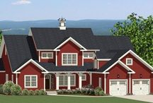 New England House Plans / If your dream is to live in a charming New England home, then you'll want to preview some of these quintessential New England, Cape Cod House Plans from The House Designers. All of these new home plans can be customized to create your dream  home. Tell us what you like the best about these designs? / by Best-Selling House Plans