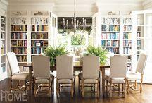 Dinning room library