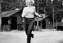 Marilyn Monroe at Beckers chalets. worked there for a few seasons