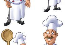 Aşçı resimleri