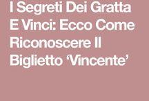 segreti di Gratta e Vinci