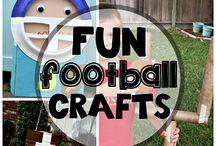 football crafts / by Jessica Ballard