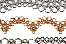 Chainmaille Jewelry / Chainmaille isn't just for armor any more.