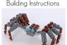 LEGO + leg