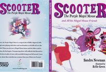 Children's Books / The Scooter books are magical tales of fluffy-slippered, little purple mice playing who live on ski hills winter, spring, summer and fall. Learn of their mischievous little adventures from one of their own, Scooter.