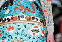 fabrics, prints, patterns