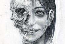 Skulls - half or partly
