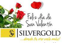 feliz dia de San Valentín / Desde Silver Gold, queremos desearos un feliz día de San Valentín con vuestros seres queridos.