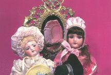 hat making of antique dolls