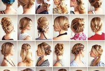 Hair styles / What can you do with your hair? Haircuts, styles, ponies and braids:)