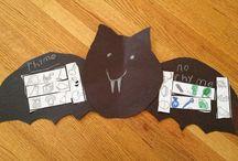 Teaching: October (Bats, Pumpkins, Spiders, Candy Corn, Fire Safety)