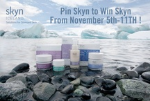 pin skyn to win skyn!  / Skyn Iceland - The first skincare line created to address the effects of stress on skin using pure and potent natural ingredients from Iceland. The best Stress-free brand!  / by Sahara Rao