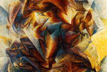 Boccioni / Umberto Boccioni(1882~1916)。変容し変容させる、暴力的でデリケートな疾走の詩人。