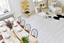 Clean decoration / Interiores