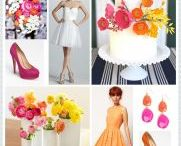 Yellow & orange weddings