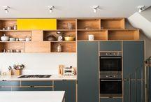 Plywood kitchen / Кухни из фанеры