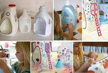 Creatief met recyclemateriaal