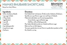 Recipes from Branson / Continuing with our theme of highlighting the great food in Branson, we thought we'd share some of our favorite Branson recipes.  / by Explore Branson
