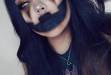 Halloweeen make-up