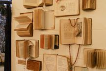 wall of openbooks