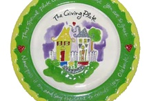 Gifts The Giving/Friendship Plate / This plate is called a Giving Plate or Friendship Plate. You fill it with anything homemade with love and give it to a friend or family member and they pass it on with goodies. This is great fun when giving among close friends or family for birthdays, graduation, first day of school, new baby, illness or hollidays. Enjoy!