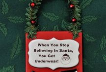 Holiday Decorations / Seasonal decorations that are handcrafted by Lisa Dempsey of Lisa D Pottery.