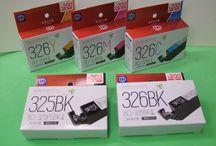 ダイソー キヤノンBCI-325BK、326インクカートリッジ販売中! / ダイソー キヤノン用BCI-325PGBK、326BK,C,M,Yリサイクルインクカートリッジ販売中!  対応機種: PIXUS MG8230 / MG8130 / MG6230 / MG6130/ MG5330 / MG5230 / MG5130 / iP4930 / iP4830 / MX883 / MX893 / iX6530   #インクダイソー #ダイソー325 #326インク #キヤノン