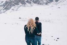Alaska Engagement Photos