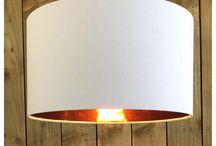 The Grey Room Lighting www.etsy.com/uk/shop/TheGrayRoom / Handmade light & lamp shades