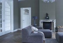 grijs wit interieur