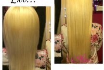 Tape on hair extensions / Blonde #613