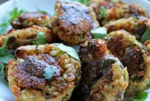 Fritters, burgers etc