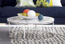 grey marble table options / by Brigitta Barile