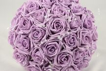 Lavender Wedding Theme / Lavender colour themed wedding flowers by Petals Polly. www.petalspollyflowers.co.uk