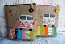 DIY pencil cases and notebooks / #pencilcase #diy #sewing #craft #notebooks #journals